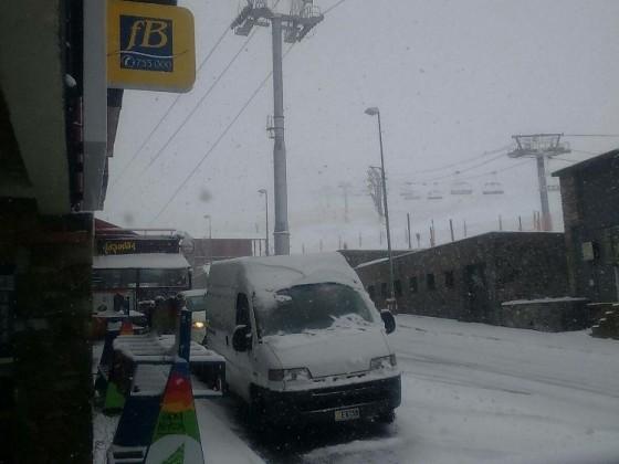A Snowy day in Pas de la Casa
