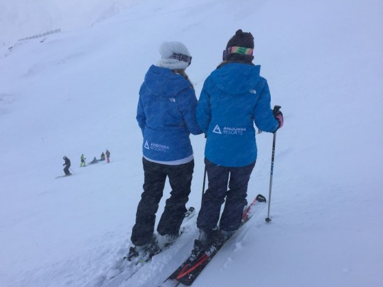 Esther & Sofia of Andorra Resorts