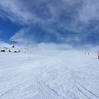 Snow cannons at work keeping the slopes nice and soft