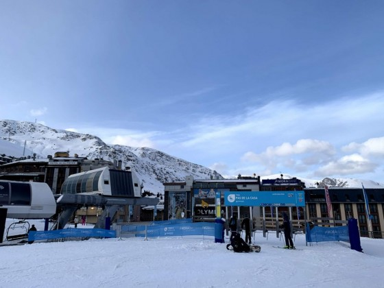 TDF4 Solana chairlift