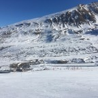 Ski school area - taken from Font Negre chairlift