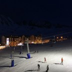 Night skiing in Pas de la Casa