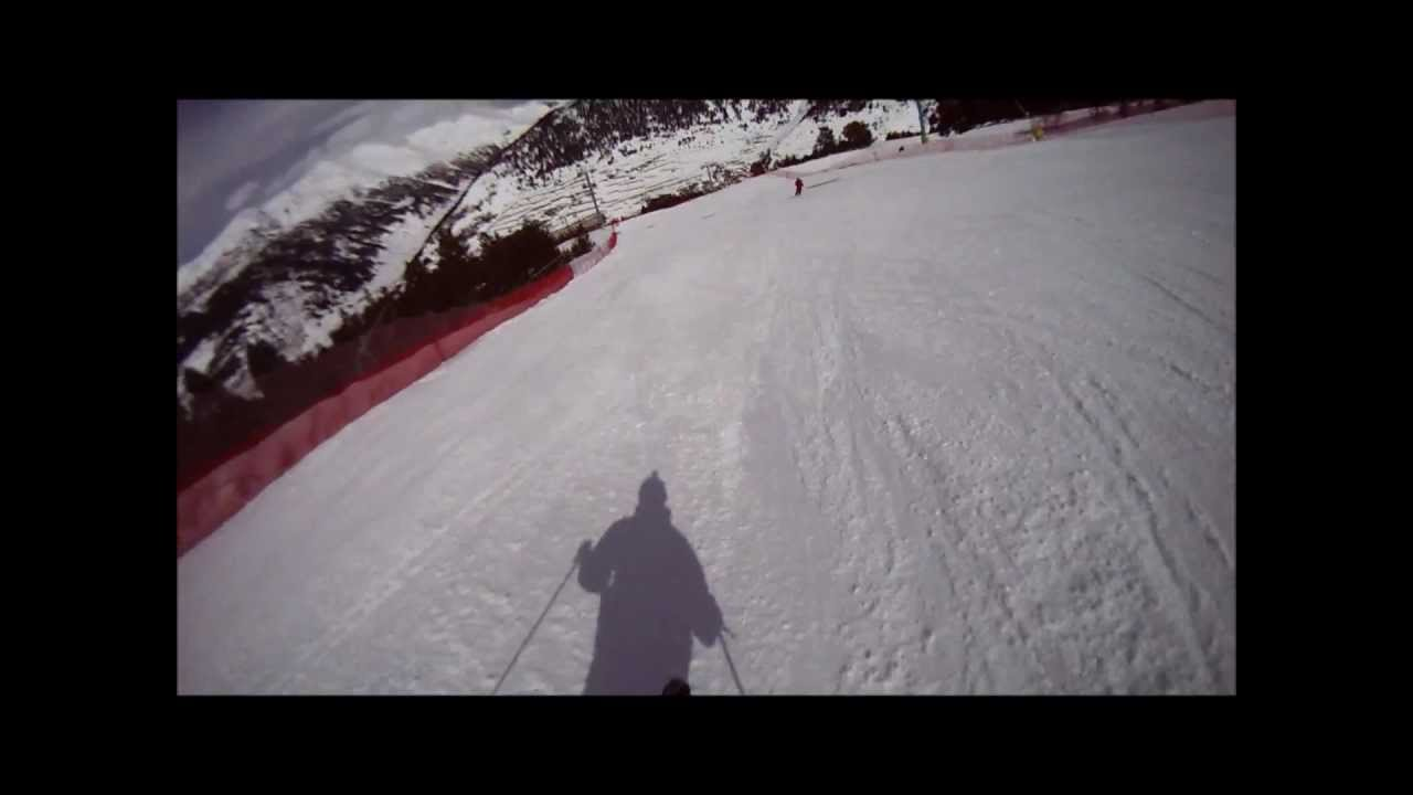 World Cup Slope, Soldeu, March 2013