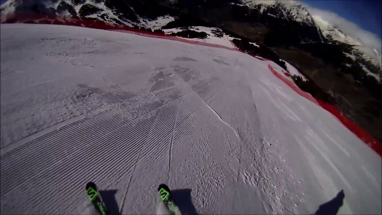 El Tarter World Cup Slope, February 2016