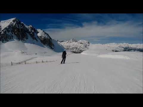 March snowfall in Pas de la Casa & Grau Roig - 08.03.2020